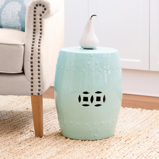 Ceramic Stool - Green