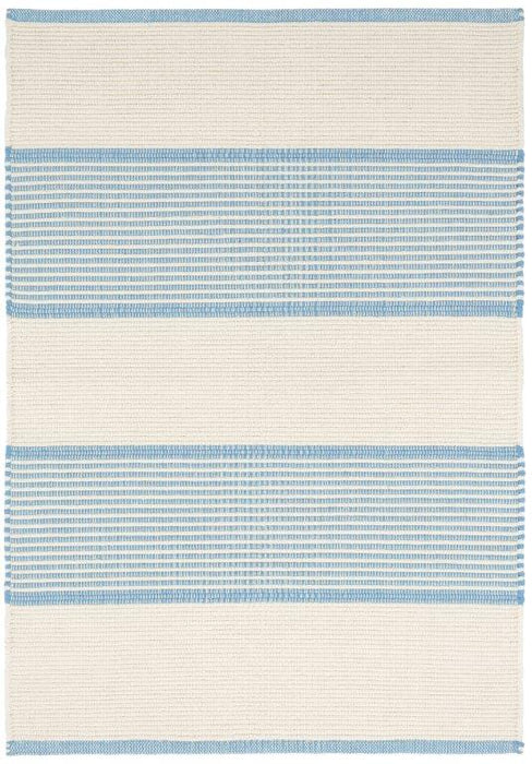 Mark D. Sikes Cotton Rug - La Mirada Asiatic Blue