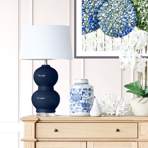 Navy Coast Lamp