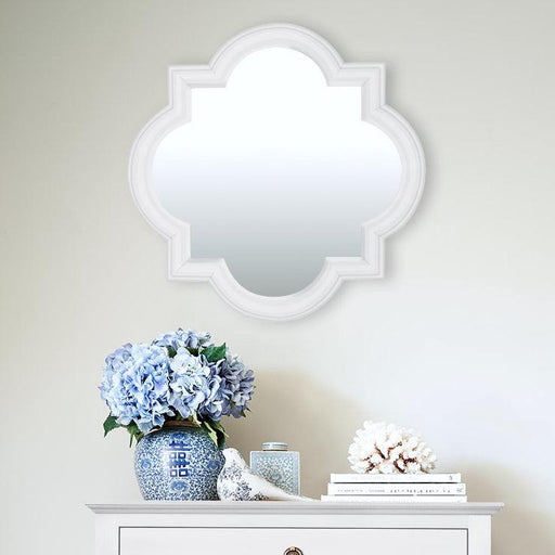 White Hamptons Mirror