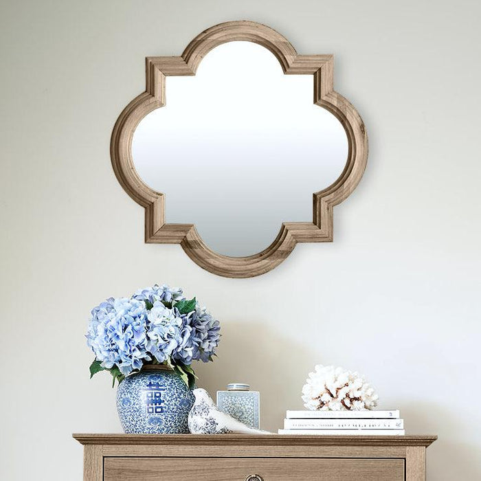 Oak Hamptons Mirror