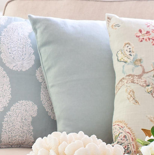 Sea Mist Linen Cushion