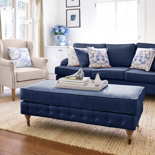 Hamptons Living Room Package - Navy