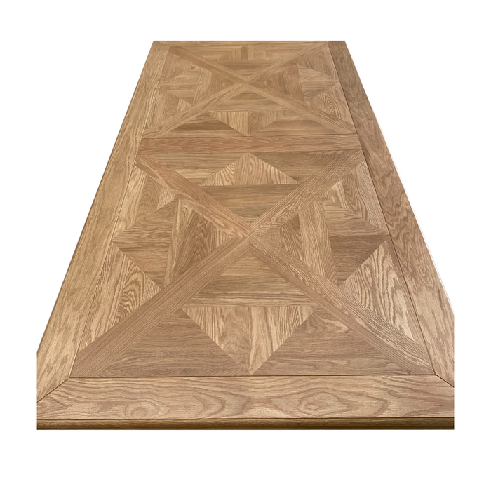 Parquetry French Farmhouse Dining Table