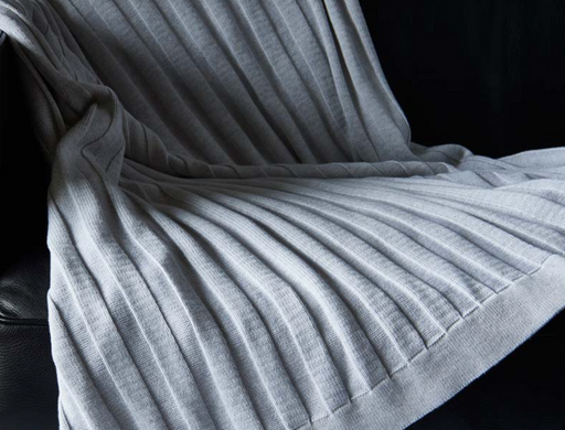 Bemboka Cotton Throw - Flat Rib