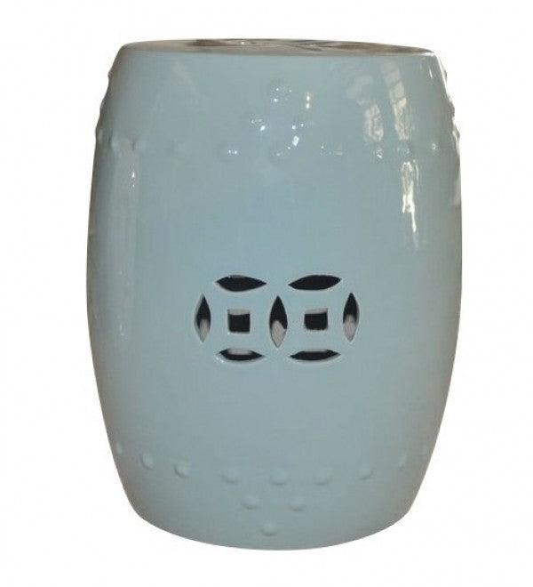 Ceramic Stool - Blue