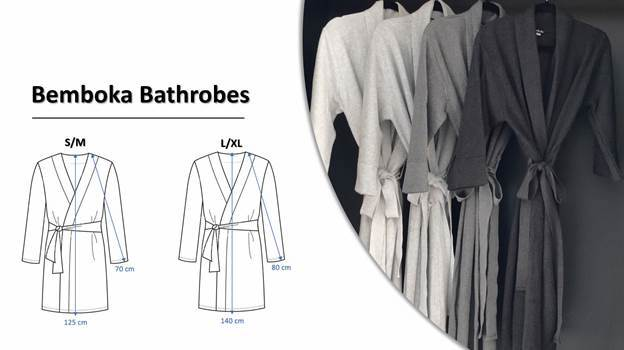 Bemboka Honeycomb Cotton Bathrobe