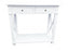 White Console Table - 2 Drawers