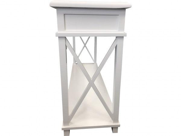 White Console Table - 3 Drawers
