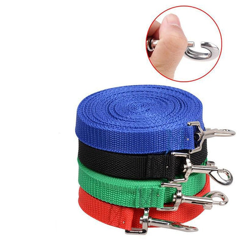 Pet Nylon Lead Leash For Dogs / Cats Comes In Four Colors