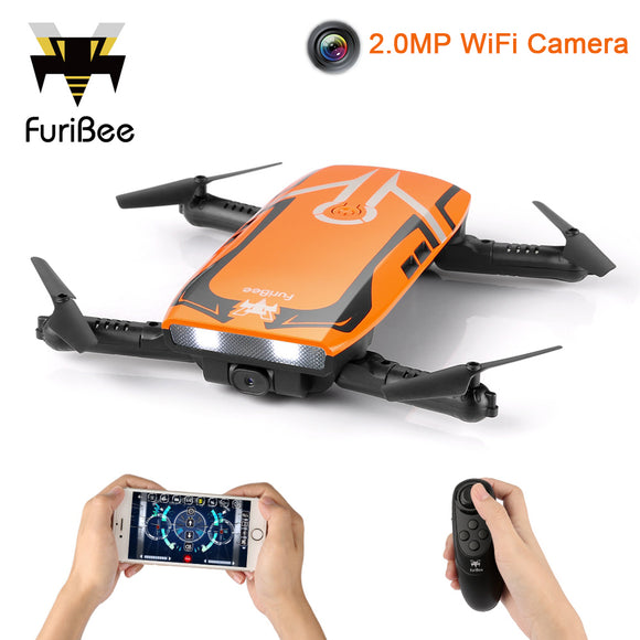 FuriBee H818 Mini Drone Remote Control Quadcopter With 2.0MP HD Camera WiFi Camera vs JJRC H37 XS809HW Drones Toys Gift -quadcopter, drone, FPV quadcopter, rc helicopter, racing Drone