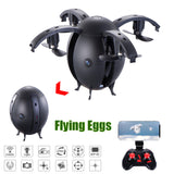 2017 New Arrival A6HW Selfie Drone With Wifi FPV HD Camera Mini Drone Altitude Hold RC Quadcopter Toys Flying Egg Ball -quadcopter, drone, FPV quadcopter, rc helicopter, racing Drone