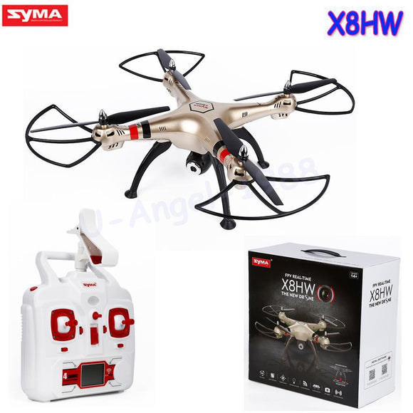 1pcs Syma X8HW WIFI FPV Real-time RC Helicopter Headless Drone With 1MP HD Camera 2.4Ghz 6 Axis Gyro Remote Control Quadcopter - Quadcopters and Drones for Less