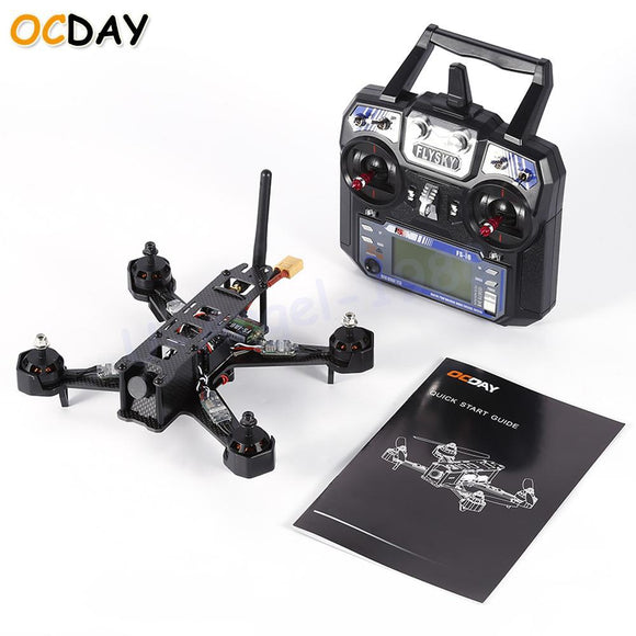 1set OCDAY 210 Carbon Fiber FPV Racing Drone Quadcopter with Camera Image Sensor With Flysky Fs-i6 Transmitter - Quadcopters and Drones for Less