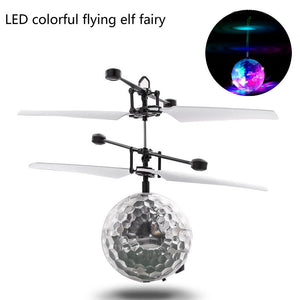 RC Flying Ball Drone Helicopter Ball Built-in Shinning LED Lighting for Kids Toy -quadcopter, drone, FPV quadcopter, rc helicopter, racing Drone