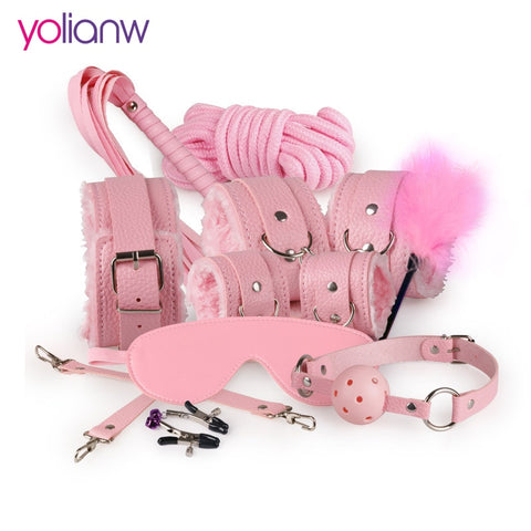 Sex Bondage Kit Set 10 Pcs Sexy Products