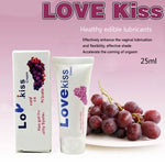 2pcs LOVE KISS Grape Anal Sex Lubricant 25ml