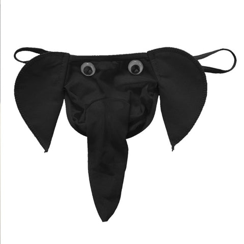 Elephant Bulge Pouch Mens Elastic T Back G Ring