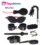 Toysdance 8Pcs/set Bondage Kits For Couples