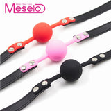 Meselo Gag Ball Sex Toys Slave Harness For Couple/Gay/Lesbian