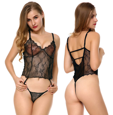 Sexy underwear uniforms three point Lingerie nightwear