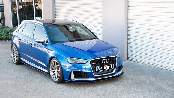 Audi RS3 8V PFL Hatch Front Splitter | Flow Designs Australia