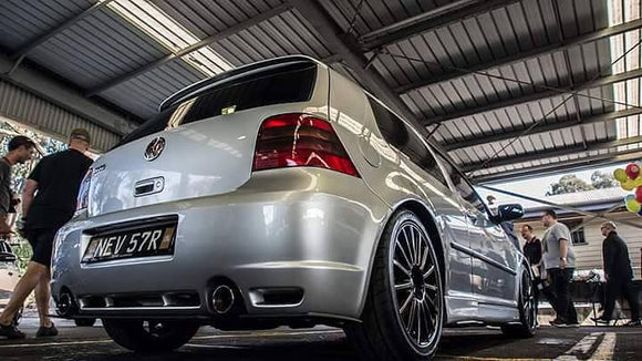 VW MK4 Golf R32 Rear Valance (3 Piece) | Flow Designs Australia