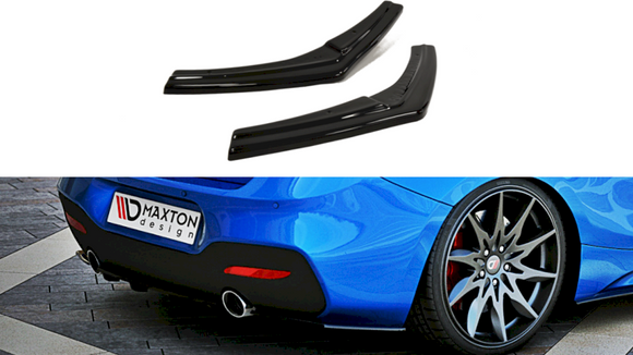 Maxton Design Rear Side Splitters BMW Series 1 M-Sport LCI (F20)