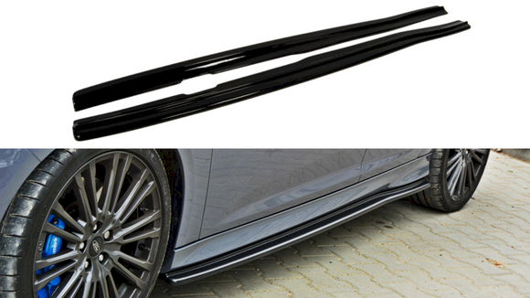 Maxton Design Side Skirts Splitters Ford Focus RS MK3