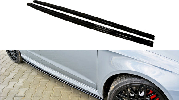 Maxton Design Side Skirts Splitters Audi RS3 (8V)