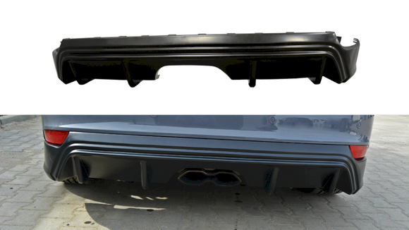 Maxton Design Rear Diffuser Ford Focus ST MK3 (FACELIFT) RS-Look