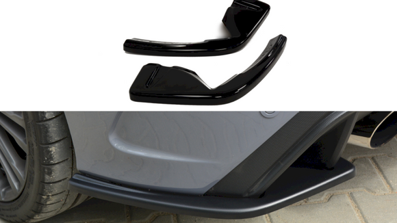 Maxton Design Rear Side Spats Ford Focus RS MK3
