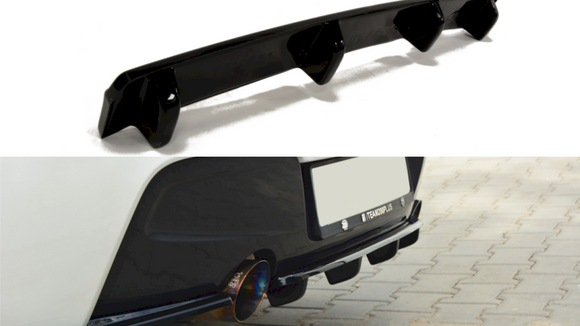 Maxton Design Central Rear Diffuser BMW Series 1 M-Sport (F20)