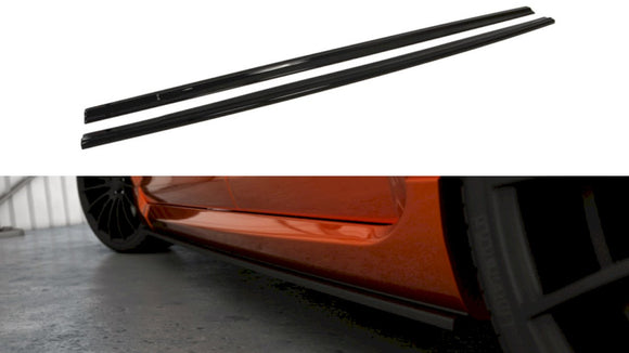 Maxton Design Side Skirts Splitters Ford Focus II ST (FACELIFT)