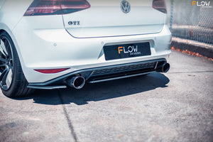 Flow Designs Rear Valance & Fairing - Volkswagen Golf GTI (MK7)