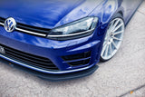 Flow Designs Full Splitter Set Option 2 - Volkswagen Golf R (MK7)