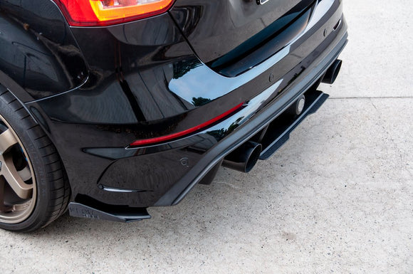 Flow Designs Rear Spats - Focus RS (MK3)