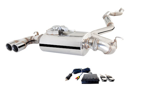 X-Force Valved Cat Back Exhaust - BMW 125i (F20)