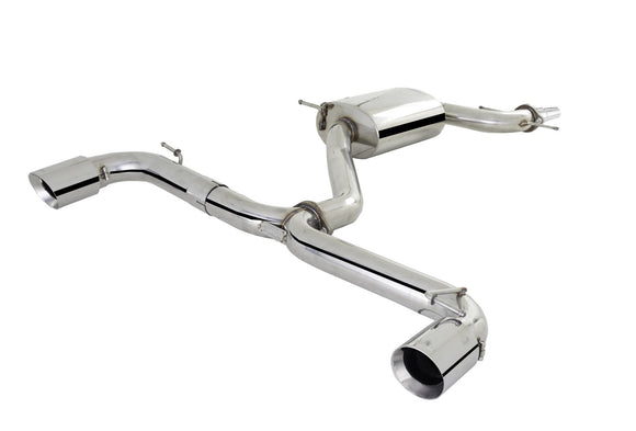 X-Force Valved Cat Back Exhaust - Volkswagen Golf GTI (MK6)