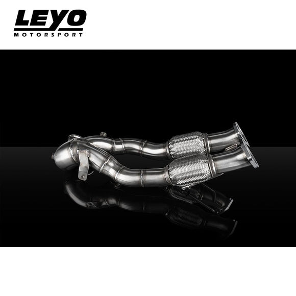 LEYO Motorsport Catless Downpipe - Audi RS3 Facelift (8V)