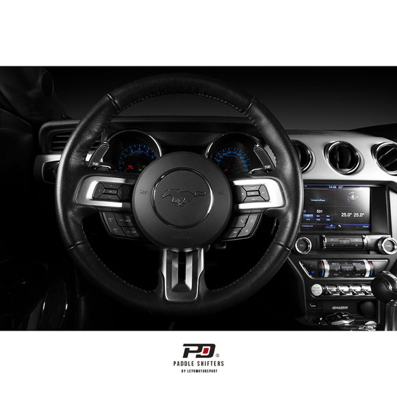 PD Paddle Billet Paddle Shift Extensions - Ford Mustang 2016+