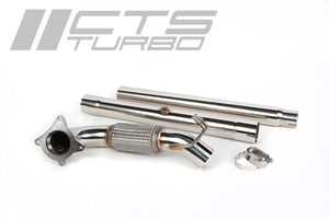 CTS TURBO Downpipe inc. 200 Cell CAT - Volkswagen Golf GTI (MK5)/(MK6)