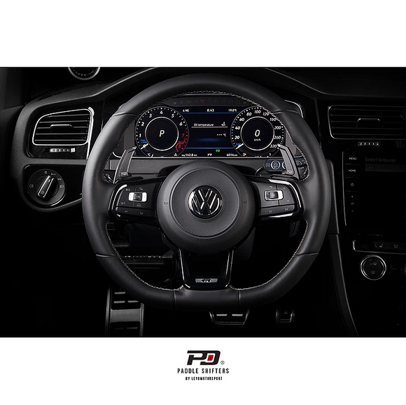 PD Paddle Billet Paddle Shift Extensions - Volkswagen Golf GTI & R (MK7)