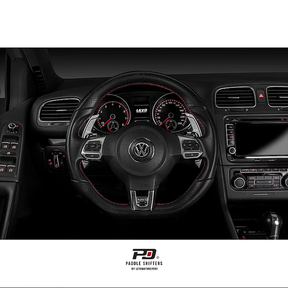 PD Paddle Billet Paddle Shift Extensions - Volkswagen Golf GTI & R (MK6)