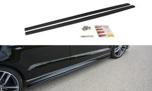 Maxton Design Side Skirts Audi S3 / A3 S-Line (8V) Sedan (Facelift)