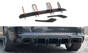 Maxton Design Rear Diffuser V.2 Audi RS3 (8V) Hatch (Facelift)