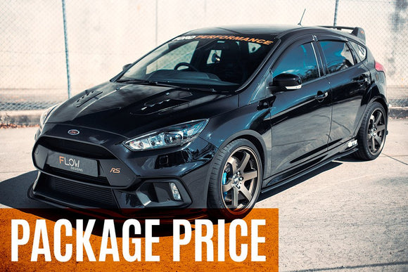 Flow Designs Full Splitter Set - Ford Focus RS (MK3)