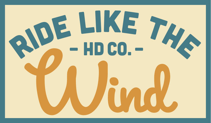 New Hank Darby Patch: Ride like the wind