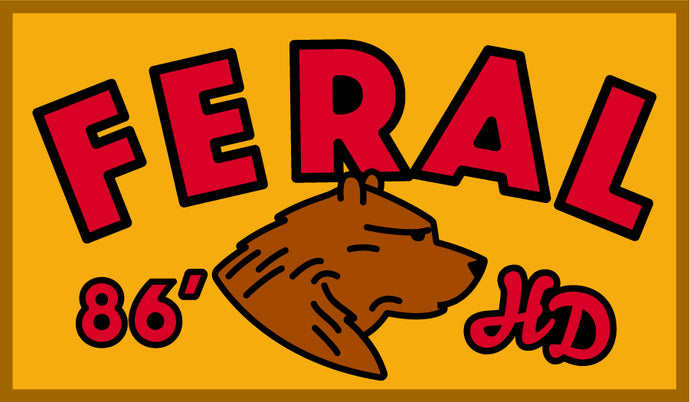 New Hank Darby Patch: FERAL