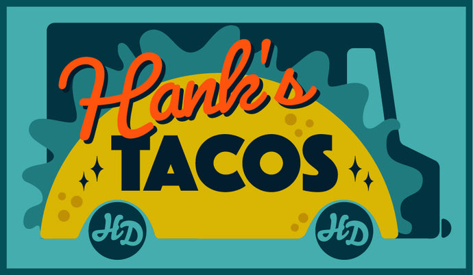 New Hank Darby Patch: Taco Truck